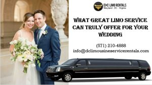 What Amazing Limo Companies Can Do For Your Wedding
