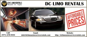 DC limousine rentals